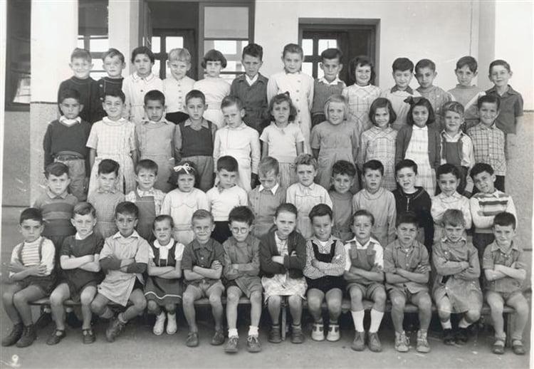 ecole du centre  ain-seba 1952 - ECOLE DU CENTRE