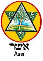 Les 12 Tribus d'Israël Aser
