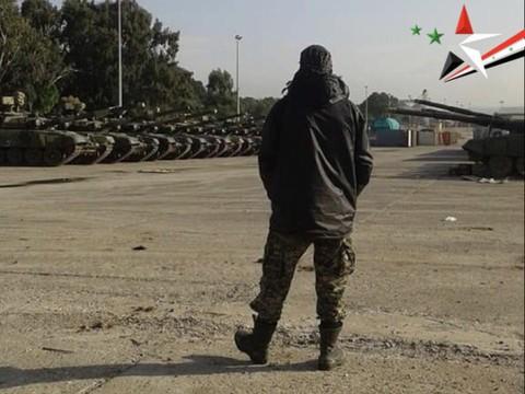 الجيش السوري يتسلم المزيد من دبابات T-90A من روسيا  T-90