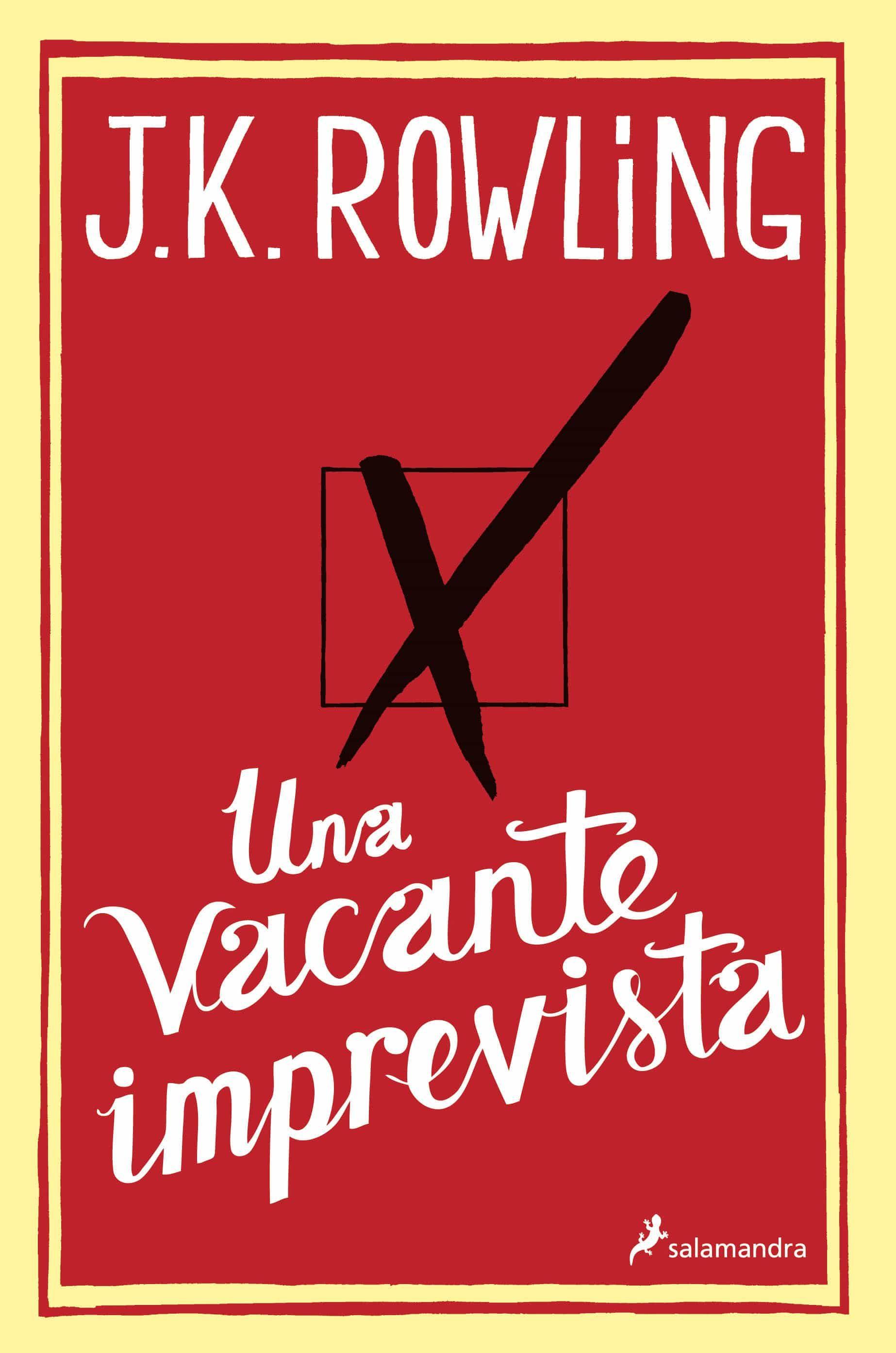 """NUEVO LIBRO > """"The Casual Vacancy"""" J.K Rowling Una-vacante-imprevista-9788498384925"""