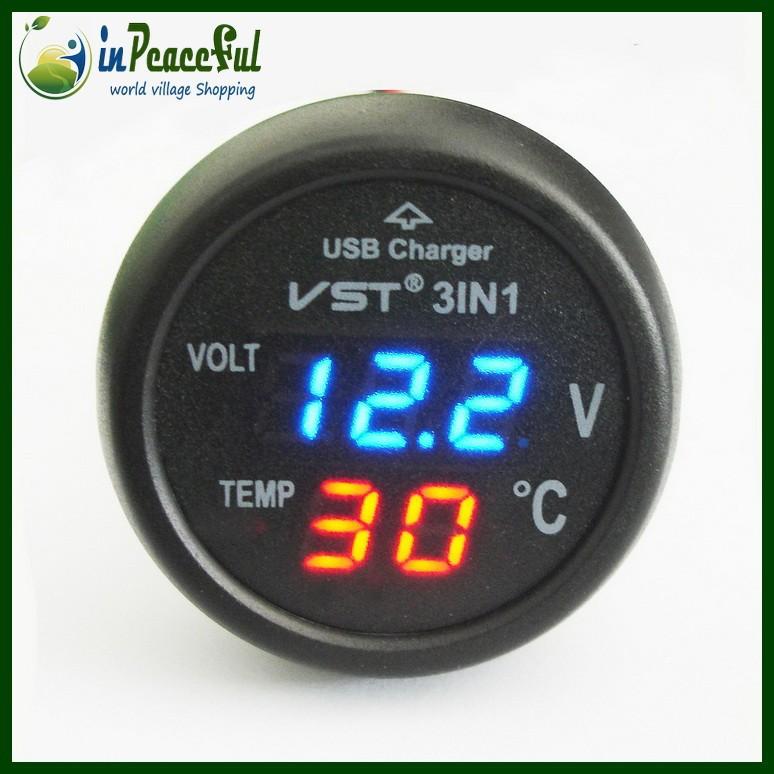 Batterie, Voltmètre et Ampèrmètre Desc_1001232456_00