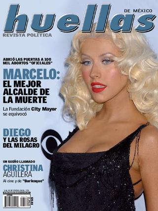 """Christina en la portada de Enero de la revista """"Huellas"""" (Mexico) Page_1_thumb_large"""