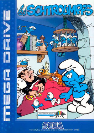 Le mystérieux pack Schtroumpfs Mega Drive Lescmg0f