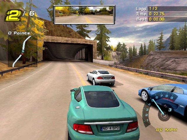 من أجمل ألعاب السيارات Need For Speed Poursuite Infernale 2 Nfs2gc002
