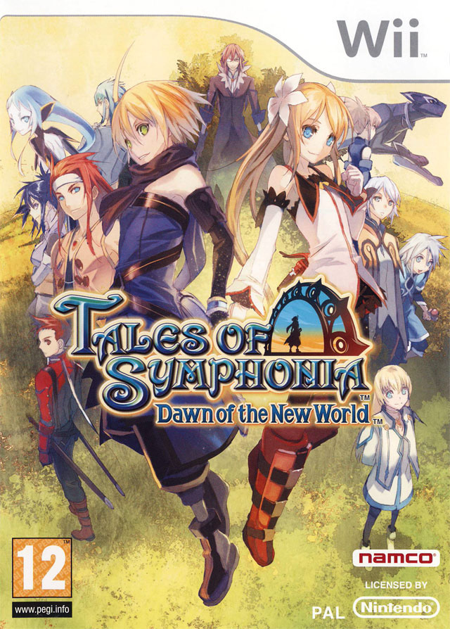 Tales of Series [Reportaje] Jaquette-tales-of-symphonia-dawn-of-the-new-world-wii-cover-avant-g