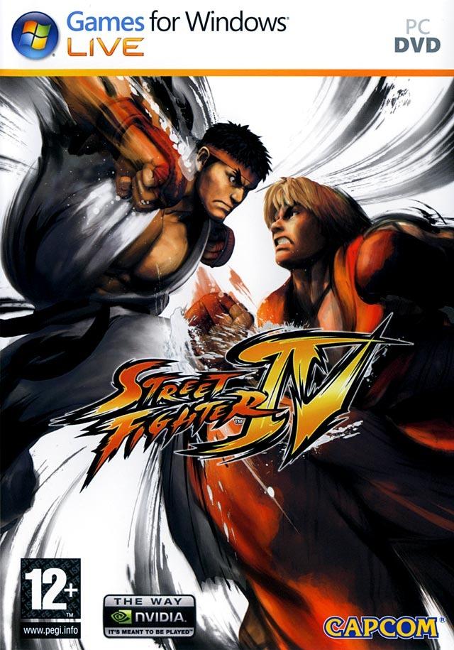 تحميل لعبة العراك و الصراع الشهيرة مع الكراك Street Fighter IV + crack Jaquette-street-fighter-iv-pc-cover-avant-g