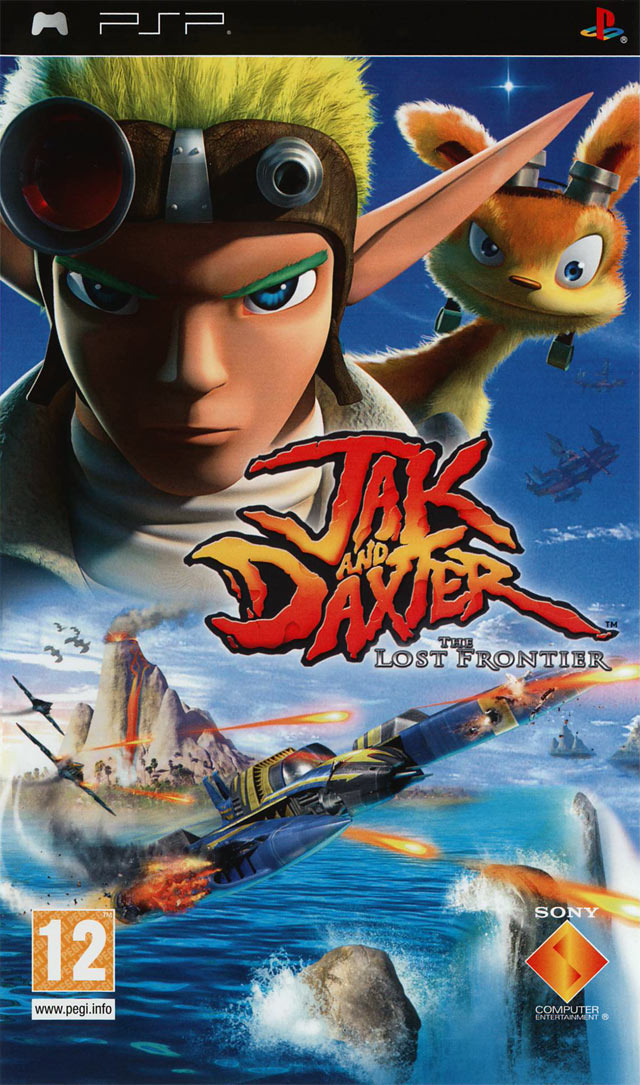 psp  العاب Jaquette-jak-and-daxter-the-lost-frontier-playstation-portable-psp-cover-avant-g