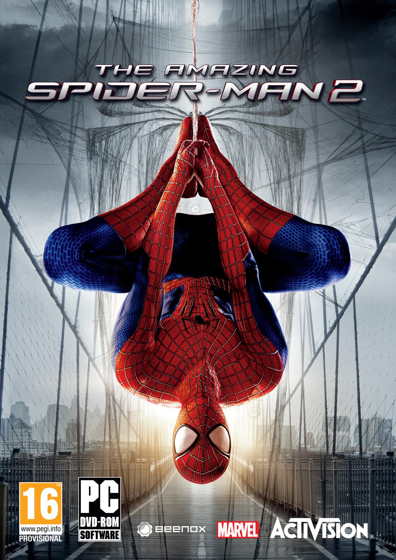 The Amazing Spider-Man 2-Reloaded 2014 |  تحميل لعبة Jaquette-the-amazing-spider-man-2-pc-cover-avant-g-1391118393