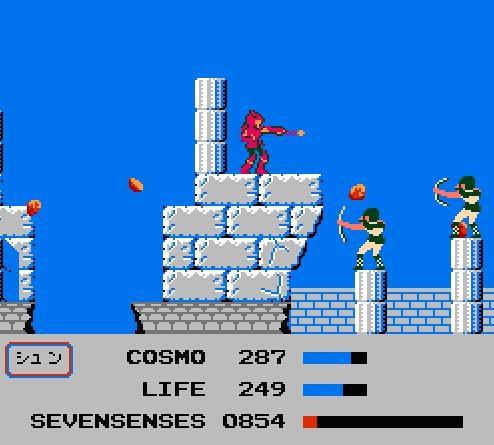 Saint Seiya  (Les Chevaliers du Zodiaque ) dans les jeux vidéo. Sskhns009