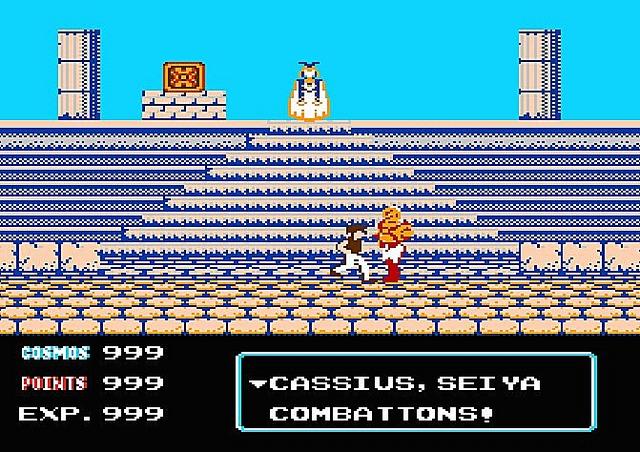 Saint Seiya  (Les Chevaliers du Zodiaque ) dans les jeux vidéo. Ssodns040
