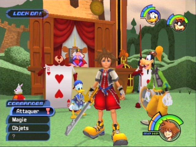 Jeu vidéo : Kingdom Hearts Kihep2013