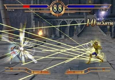 Saint Seiya  (Les Chevaliers du Zodiaque ) dans les jeux vidéo. Sasep2029