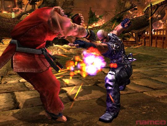 Tekken 5 على PS2 Tek5p2034
