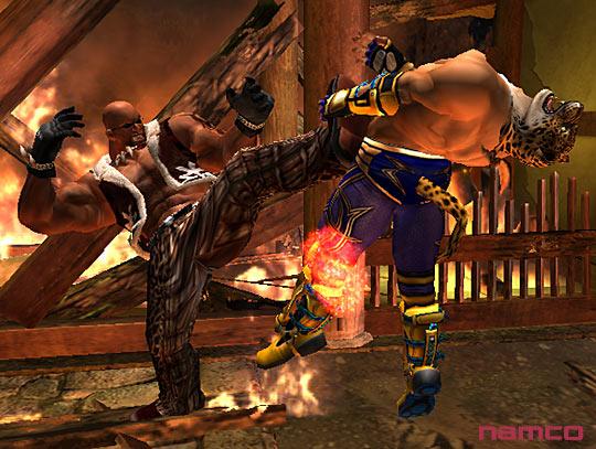Tekken 5 على PS2 Tek5p2050