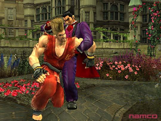 Tekken 5 على PS2 Tek5p2064