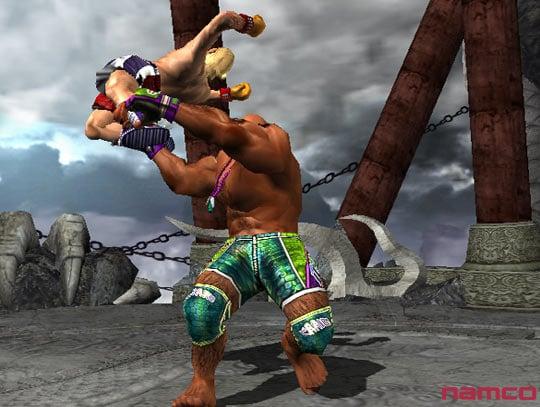 Tekken 5 على PS2 Tek5p2073