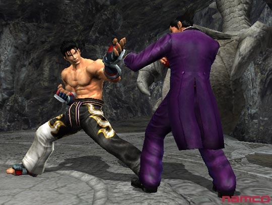 Tekken 5 على PS2 Tek5p2098