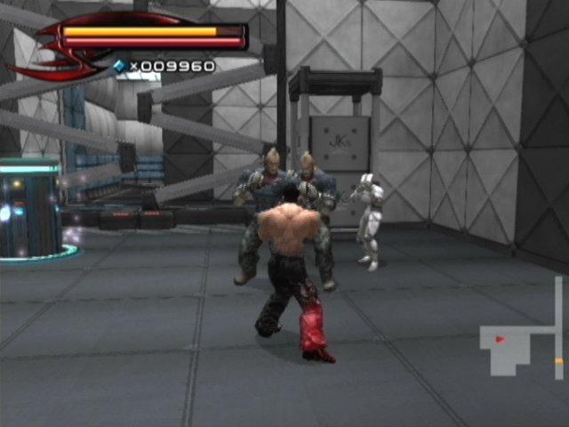 Tekken 5 على PS2 Tek5p2376
