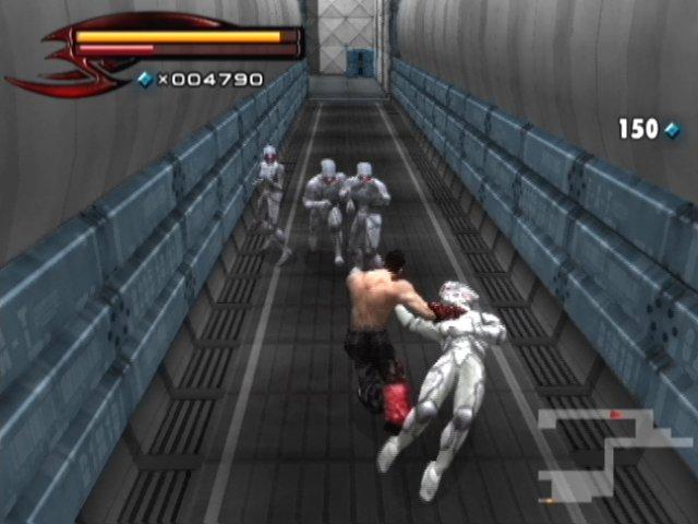 Tekken 5 على PS2 Tek5p2386