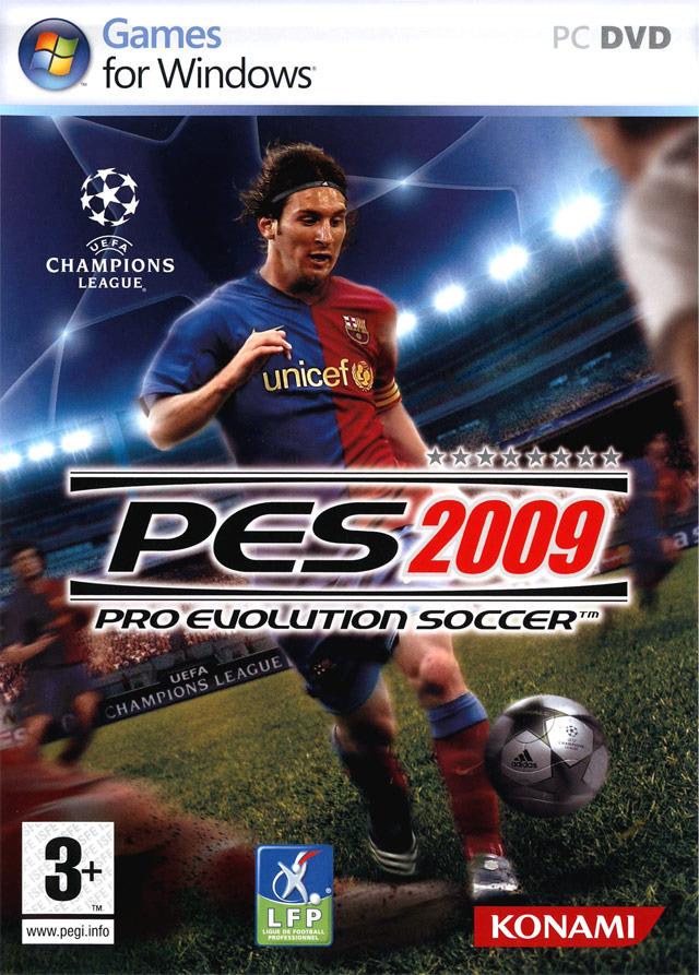 Pro Evolution Soccer 2009 (1 lien) + Serial & Crack Pes2pc0f