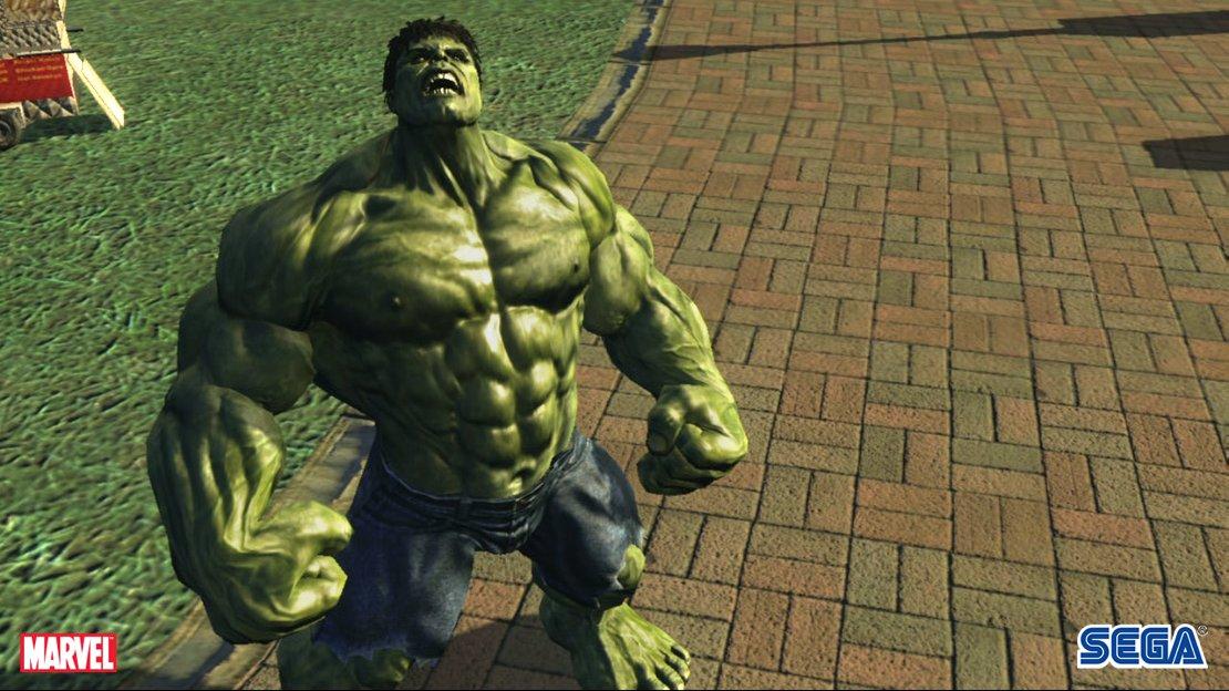 لعبة الوحش الاخضر the incredible hulk hard game برابط واحد Tihupc029