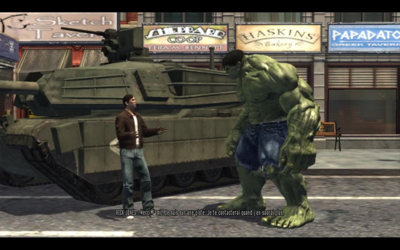 لعبة الوحش الاخضر the incredible hulk hard game برابط واحد Tihupc050