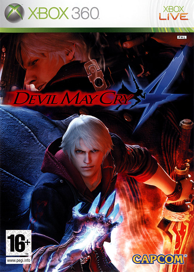 Devil May Cry 4 - Xbox 360 Dmc4x30f