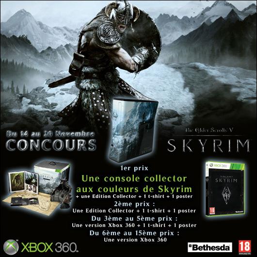 XBOX 360 Limited SKYRIM à remporter ! Concours_skyrim