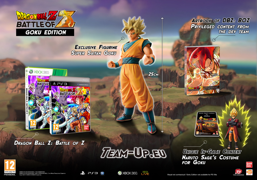 Battle of Z : Goku edition ! Dbz
