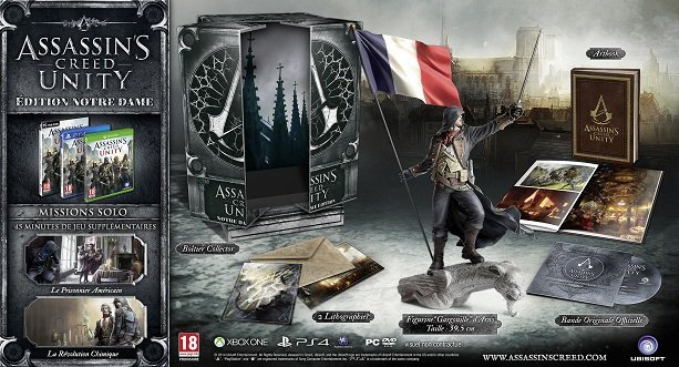 Assassin's Creed Unity édition collector Notre_dame