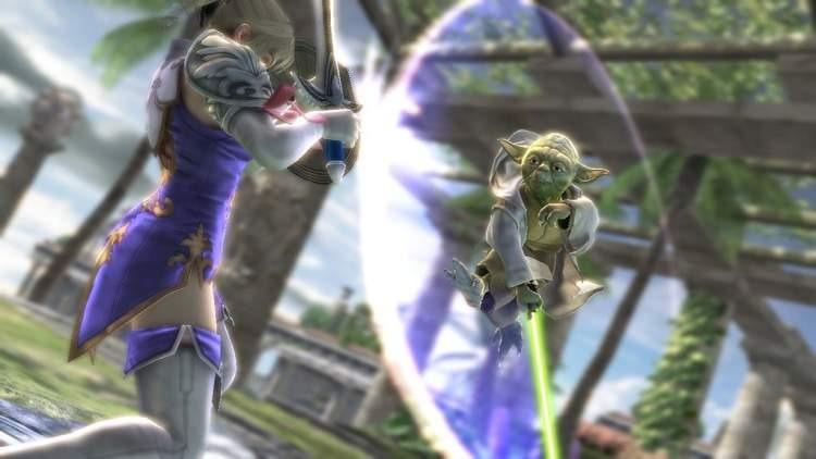 Yoda et Dark Vador dans SoulCalibur IV ! Sc_yoda