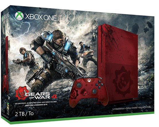 [EST] Xbox One S edition Gears of war 4 1468420571-6356-photo