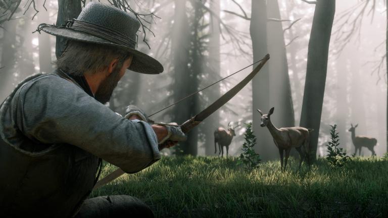 Red Dead Redemption II : Un aperçu de la vie sauvage en images 1537948181-3672-capture-d-ecran