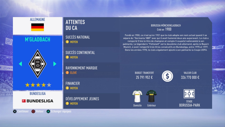 FIFA 19 Mode Carrière : Les jeunes les plus prometteurs, le budget des clubs et bien choisir son équipe 1538386265-3822-capture-d-ecran