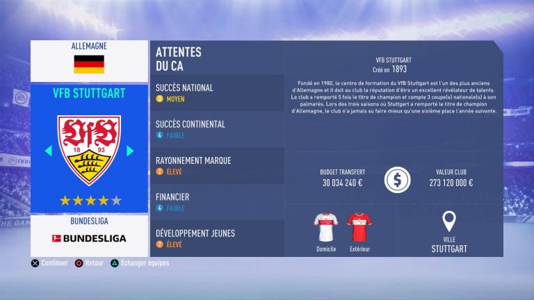 FIFA 19 Mode Carrière : Les jeunes les plus prometteurs, le budget des clubs et bien choisir son équipe 1538386265-7786-capture-d-ecran