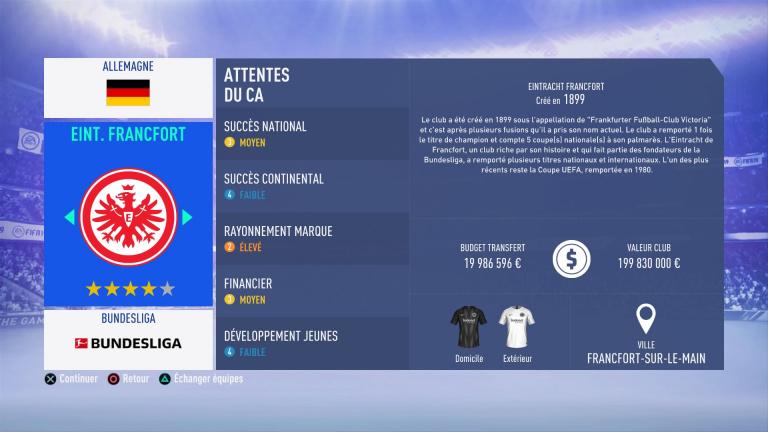 FIFA 19 Mode Carrière : Les jeunes les plus prometteurs, le budget des clubs et bien choisir son équipe 1538386305-6734-capture-d-ecran
