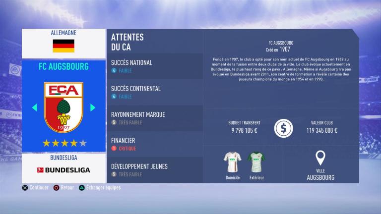 FIFA 19 Mode Carrière : Les jeunes les plus prometteurs, le budget des clubs et bien choisir son équipe 1538386311-6758-capture-d-ecran