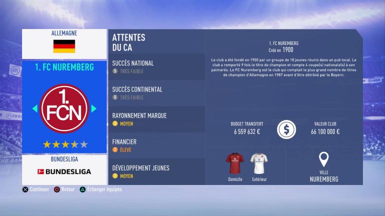 FIFA 19 Mode Carrière : Les jeunes les plus prometteurs, le budget des clubs et bien choisir son équipe 1538386313-4246-capture-d-ecran