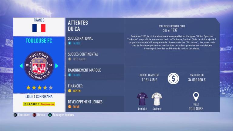 FIFA 19 Mode Carrière : Les jeunes les plus prometteurs, le budget des clubs et bien choisir son équipe 1538386655-8814-capture-d-ecran