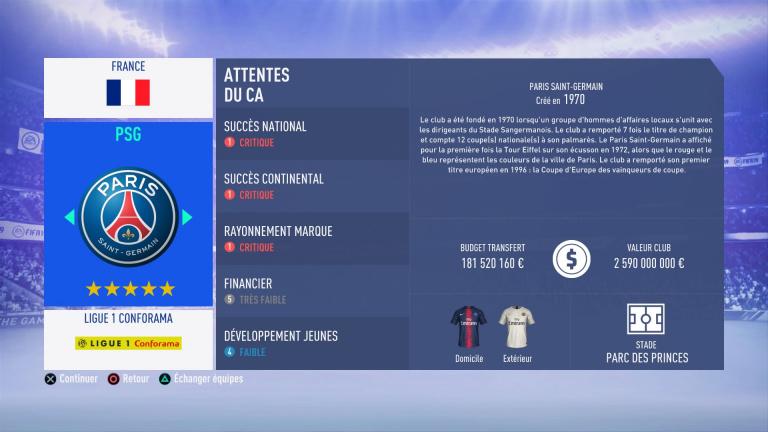 FIFA 19 Mode Carrière : Les jeunes les plus prometteurs, le budget des clubs et bien choisir son équipe 1538386663-2838-capture-d-ecran