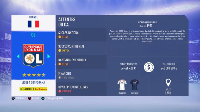 FIFA 19 Mode Carrière : Les jeunes les plus prometteurs, le budget des clubs et bien choisir son équipe 1538386675-5959-capture-d-ecran