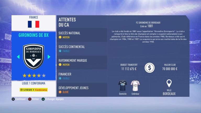 FIFA 19 Mode Carrière : Les jeunes les plus prometteurs, le budget des clubs et bien choisir son équipe 1538386683-2421-capture-d-ecran