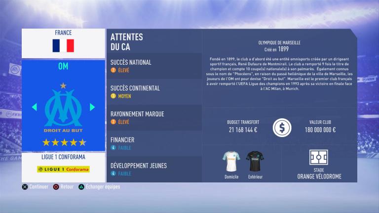 FIFA 19 Mode Carrière : Les jeunes les plus prometteurs, le budget des clubs et bien choisir son équipe 1538386686-6714-capture-d-ecran
