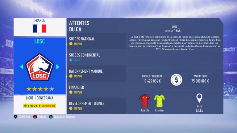 FIFA 19 Mode Carrière : Les jeunes les plus prometteurs, le budget des clubs et bien choisir son équipe 1538386687-7557-capture-d-ecran