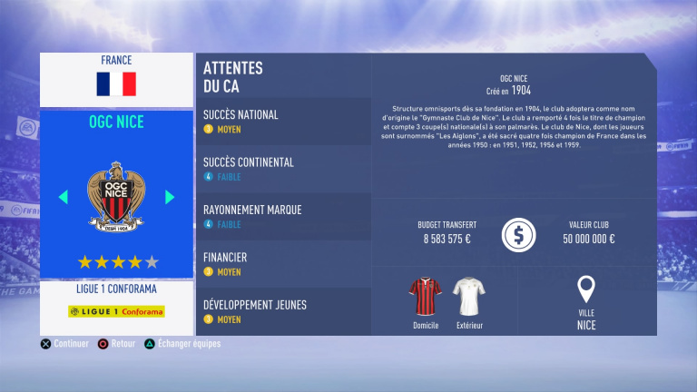 FIFA 19 Mode Carrière : Les jeunes les plus prometteurs, le budget des clubs et bien choisir son équipe 1538386748-9618-capture-d-ecran