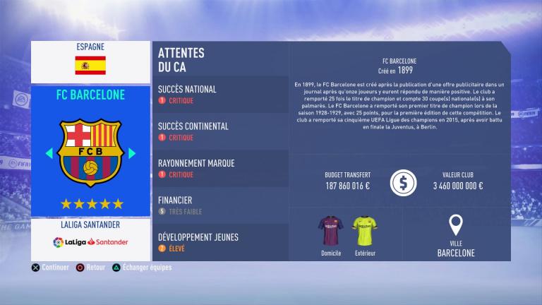 FIFA 19 Mode Carrière : Les jeunes les plus prometteurs, le budget des clubs et bien choisir son équipe 1538387959-7173-capture-d-ecran