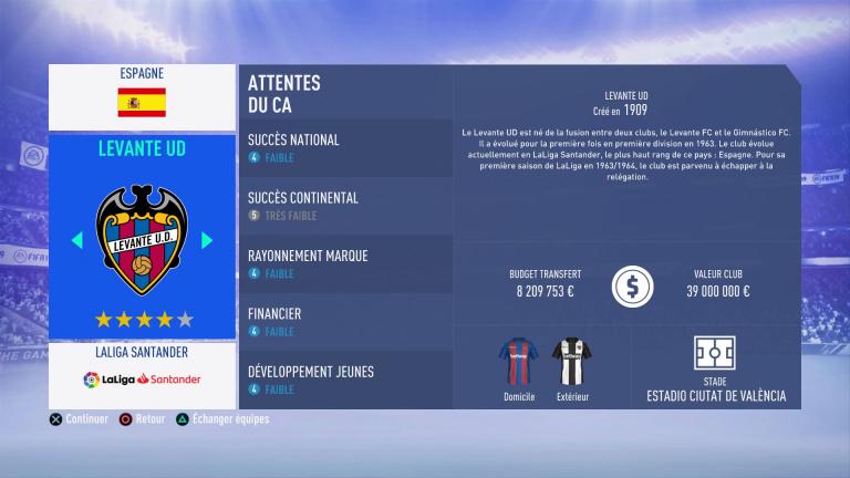 FIFA 19 Mode Carrière : Les jeunes les plus prometteurs, le budget des clubs et bien choisir son équipe 1538387964-7710-capture-d-ecran