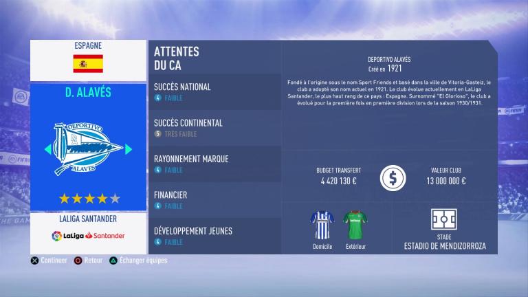 FIFA 19 Mode Carrière : Les jeunes les plus prometteurs, le budget des clubs et bien choisir son équipe 1538387976-125-capture-d-ecran