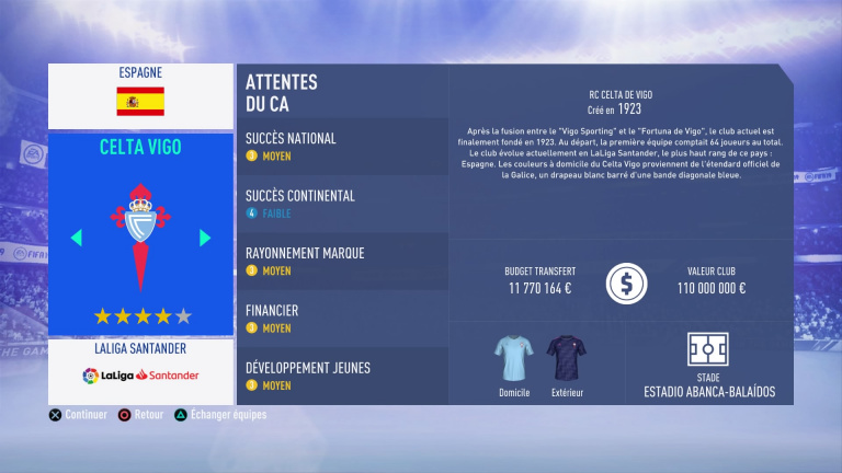 FIFA 19 Mode Carrière : Les jeunes les plus prometteurs, le budget des clubs et bien choisir son équipe 1538387976-6626-capture-d-ecran