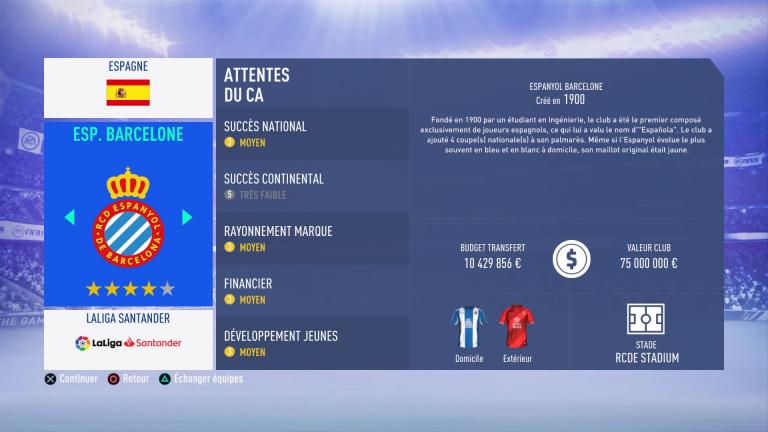 FIFA 19 Mode Carrière : Les jeunes les plus prometteurs, le budget des clubs et bien choisir son équipe 1538387982-6565-capture-d-ecran